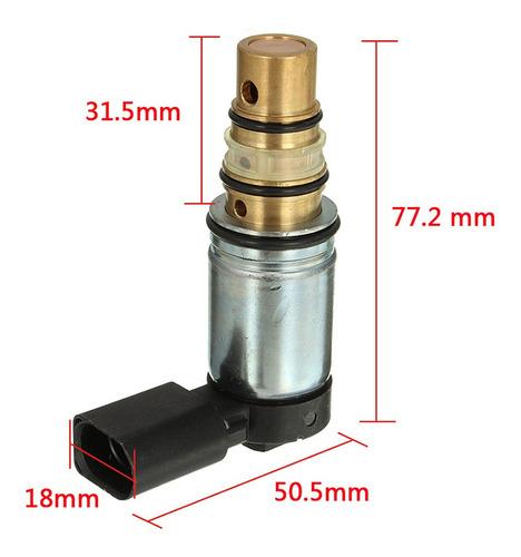 válvula solenoide control compresor para automoviles