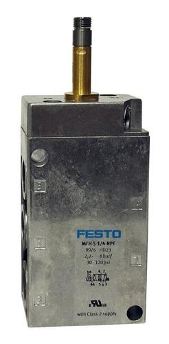 valvula solenoide festo 5/2 mfh-5-1/4-npt (9976)