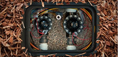 válvula solenoide hunter pgv 151 sistema de riego, regadores