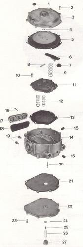 valvula solenoide para gas l.p.  carburacion