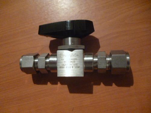 valvula swagelok 1/2 od alta presion 6000psig. mod ss-83ks8