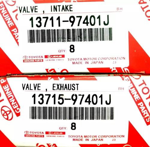 valvula terios cool 1.3 bego 1.5 admision escape 100% toyota