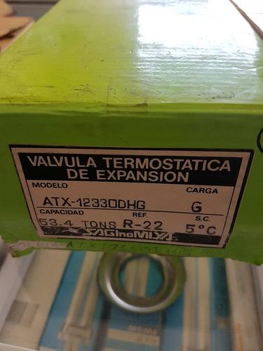 válvula termostatica de expansión