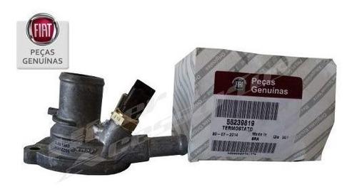 válvula termostática novo uno genuína original fiat