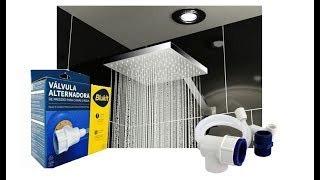 válvula transferidora pressão caixa d'agua torneira chuveiro