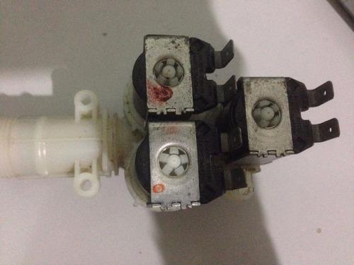 válvula tripla lavadora brastemp eletrônica 220v (usada)
