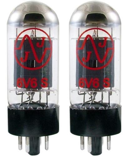 valvulas 6v6s par casado jj slovakia amplificador