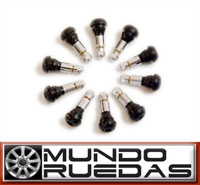 válvulas cromadas para autos y camionetas - mundo ruedas