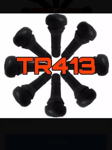 válvulas de goma para rines tr413