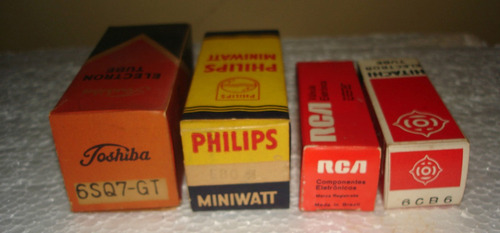 válvulas para rádios antigos