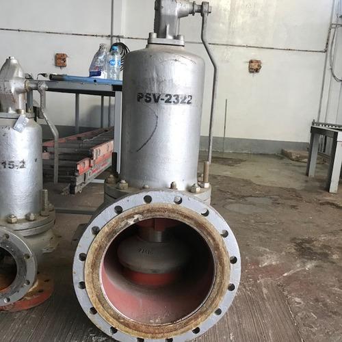 válvulas, reparación, calibración y certificación.