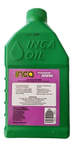 valvulina 80w90 aceite de transmision caja sincronica inca
