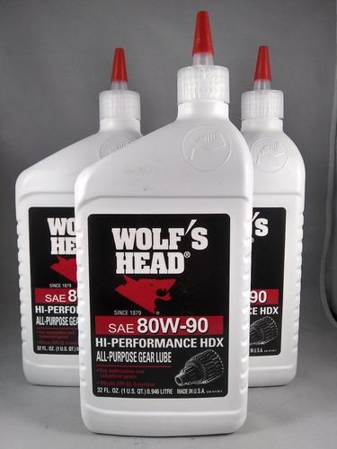 valvulina wolf's head 80w-90