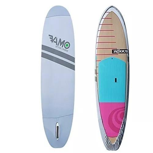 vamo stand up paddle board, estiramiento de 4 vías, cubierta