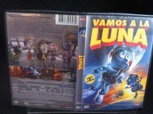 vamos a la luna dvd original 1cn