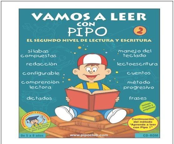 Vamos A Leer Con Pipo 2 Incluye Cd Escritura Lectura