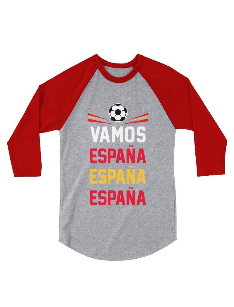 De 34 Vamos Camisa Béisbol Fútbol Espana Fan España 8nwPX0NOk