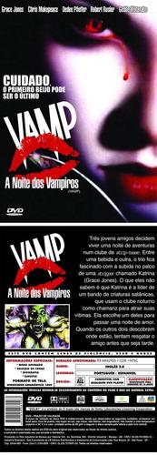 vamp a noite dos vampiros dvd
