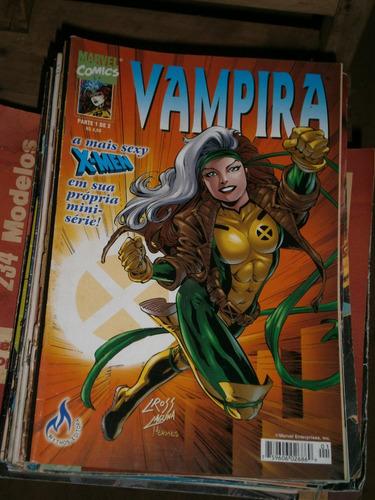 vampira dos x-men - miniserie  2 partes