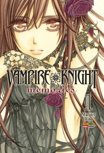 vampire knight memories 1 ao 3! mangá panini! lacrado! novo!