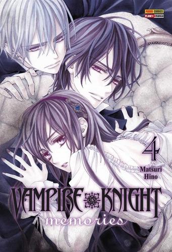vampire knight memories 4! mangá panini! lacrado! novo!