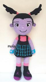 Muñeca Vampirina Tejido A Mano Amigurumi Crochet - $ 1.250,00 en ... | 284x160