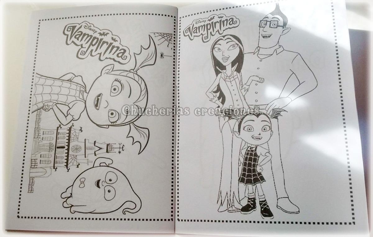 Dibujos Para Colorear De Vampirina Y Su Familia Imagesacolorier