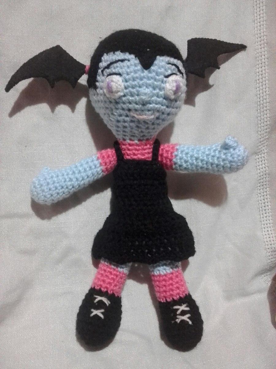 Vampirina Amigurumi Doll | Amigurumi doll, Crochet doll pattern ... | 1200x900