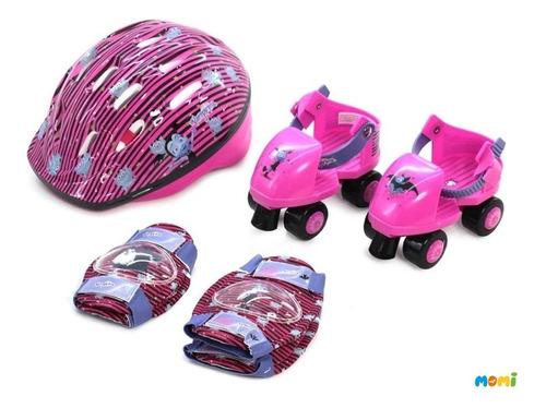 vampirina patines casco y protectores juguetes para nenas