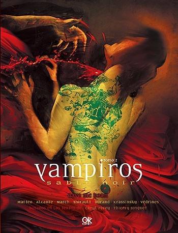 vampiros - sable noir - 2 tomos