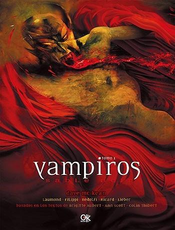 vampiros tomo i novela gráfica (envíos)