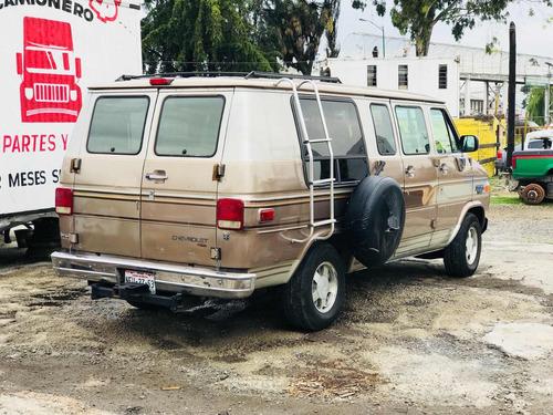 van camioneta chevrolet chevy