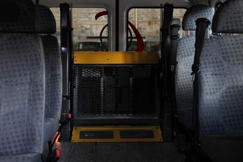 van ford transit  especial  com elevador