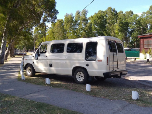 van furgon vidriado dodge 100 carroceria fibra vidrio gnc