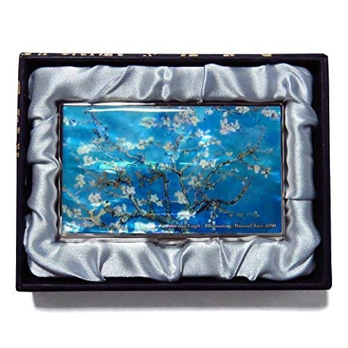 025b2a9191c1 Van Gogh Almond Blossom Business Tarjeta De Crédito Case...