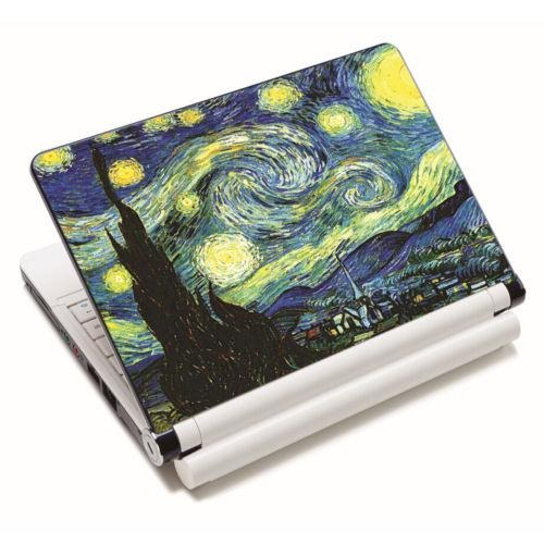 6dc9f2e81eb3bf Van Gogh Starry Night - Piel De La Etiqueta Engomada De-0310 ...