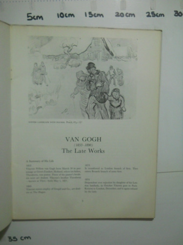 van gogh, the late works  meyer  schapiro cromos envío grati