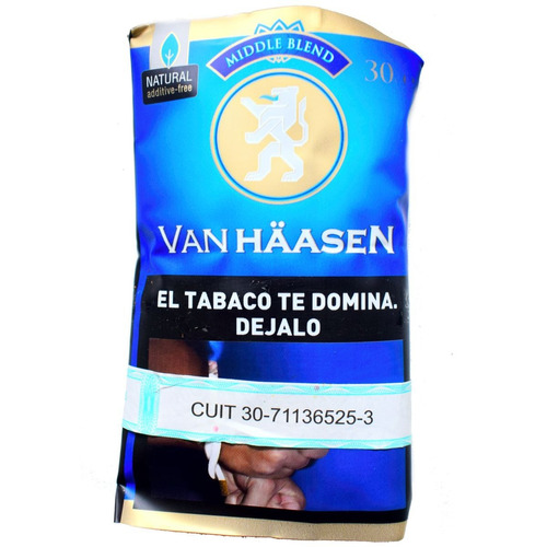 van haasen middle pack x5 armar tabacos blend tabaco natural