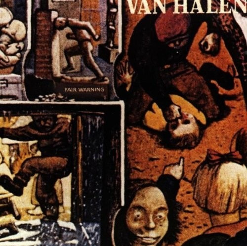 van halen - fair warning (1ª edicion sello warner cd aleman)