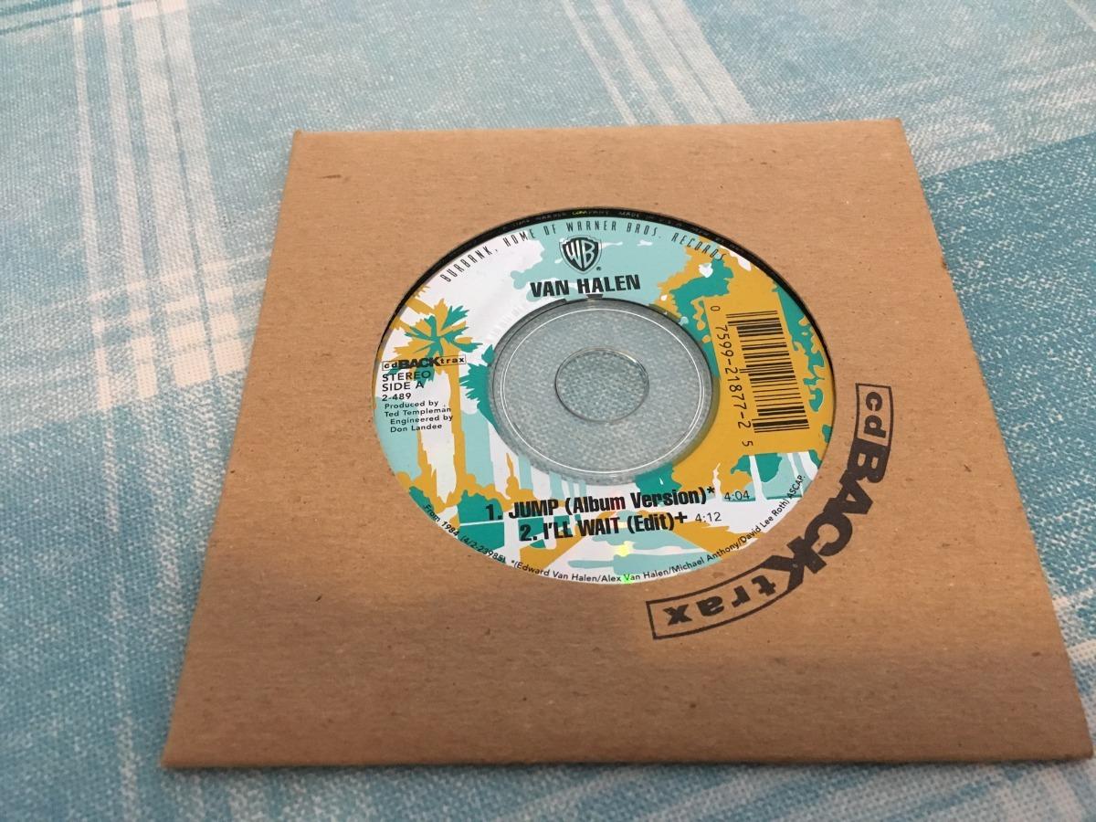 Van Halen Jump Cd Single Made In Usa Excelente 960 00 En Mercado Libre