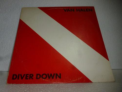 van halen lp nacional usado diver down 1982 encarte
