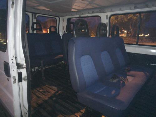 van minibus peugeot boxer 2003  10 pasajeros