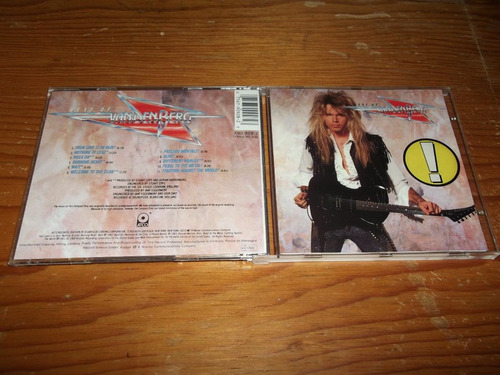 vandenberg - the best of vandenberg cd imp ed 1990 mdisk