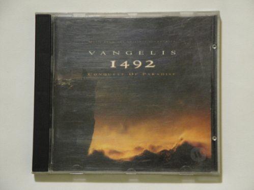 vangelis cd 11492 conquest of paradise impecable importado