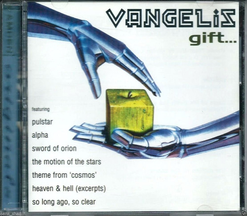 vangelis - gift (greatest hits) (cd 1996)