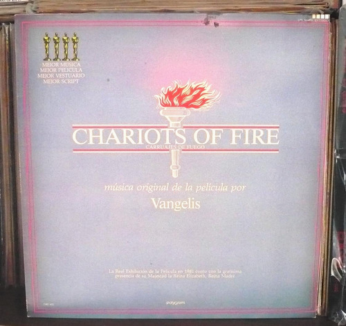 vangelis lp chariots of fire soundtrack carruajes de fuego