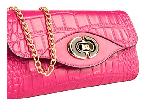 vangoddy cassie croc fancy-cartera de embrague