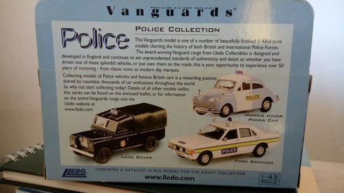 vanguards moris minor metropolitan police 175th anniversary