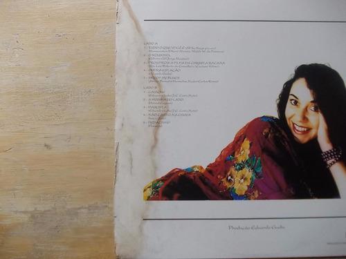 vania bastos - lp eldorado - 1990 - com encarte da gravadora