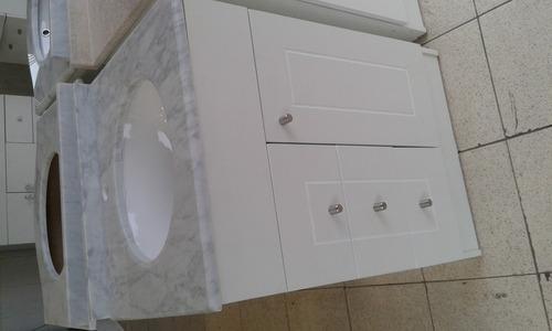 vanitorio de baño nuevo medidas 60x50 curvo y recto